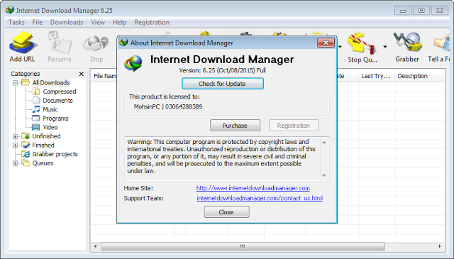 idm latest version serial key